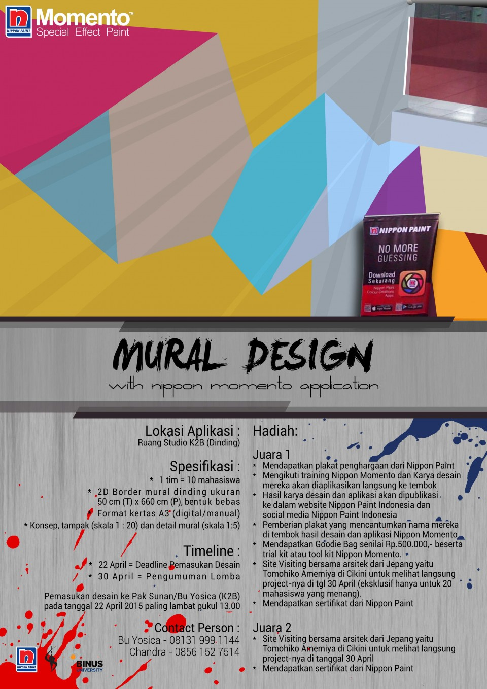 Mural Design with Nippon Momento Application