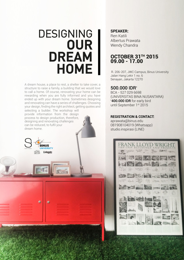 Poster Designing Our Dream home