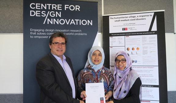 Swinburne and Binus University collaborate on disaster relief