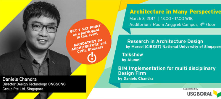 Guest Lecture – Architecture In Many Perspective